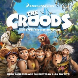The Croods Soundtrack (Alan Silvestri) - CD cover
