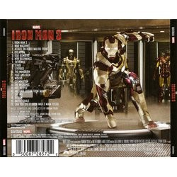 Iron Man 3 Soundtrack (Brian Tyler) - CD Achterzijde
