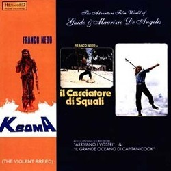 The Adventure Film World of Guido and Maurizio De Angelis Soundtrack (Guido De Angelis, Maurizio De Angelis) - CD cover