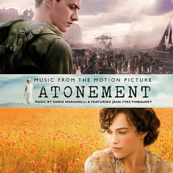 Atonement Soundtrack (Dario Marianelli) - CD cover