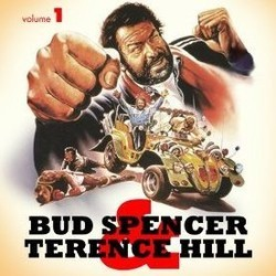 Bud Spencer & Terence Hill - Volume 1 Soundtrack (Guido De Angelis, Maurizio De Angelis, Oliver Onions) - CD cover