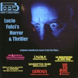 Lucio Fulci's Horror & Thriller Soundtrack (Various Artists) - Carátula
