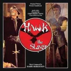 Hawk the Slayer Soundtrack (Harry Robertson) - CD cover