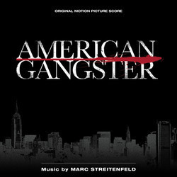 American Gangster Soundtrack (Marc Streitenfeld) - CD cover