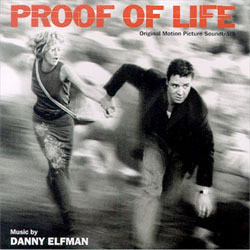 Proof of Life Soundtrack (Danny Elfman) - CD cover
