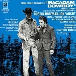 Macadam Cowboy Soundtrack (Various Artists, John Barry) - CD-Cover