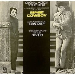 Asphalt Cowboy Soundtrack (Various Artists, John Barry) - Carátula