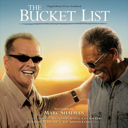 The Bucket List Soundtrack (Marc Shaiman) - CD cover