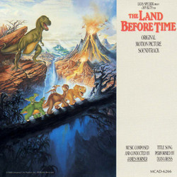 The Land Before Time Soundtrack (James Horner) - CD-Cover