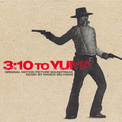 3:10 to Yuma Soundtrack (Marco Beltrami) - CD cover