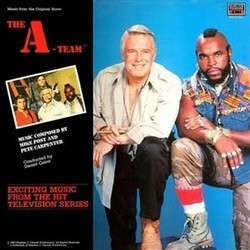 The A-Team 聲帶 (Pete Carpenter, Mike Post) - CD封面