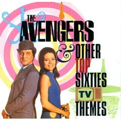 The Avengers & Other Top Sixties TV Themes Trilha sonora (Various Artists, Various Artists) - capa de CD