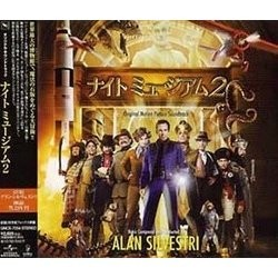 ナイト・ミュージアム2 Soundtrack  (Alan Silvestri) - CD cover