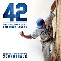 42 Soundtrack (Various Artists, Mark Isham) - CD cover