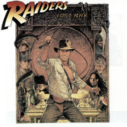 Raiders of the Lost Ark Soundtrack (John Williams) - CD cover