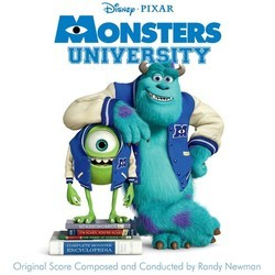 Monsters University Soundtrack (Randy Newman) - CD cover