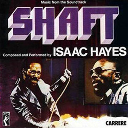 Shaft Soundtrack (Isaac Hayes) - CD cover