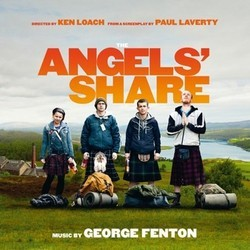 The Angels' Share Soundtrack (George Fenton) - CD cover