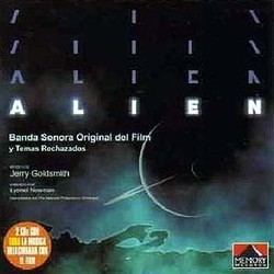 Alien Trilha sonora (Jerry Goldsmith) - capa de CD