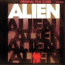 Alien Soundtrack (Jerry Goldsmith) - CD cover