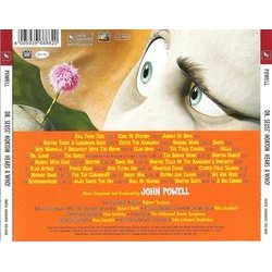 Horton Hears a Who! Trilha sonora (John Powell) - CD capa traseira