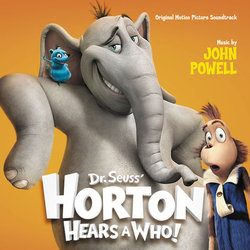 Horton Hears a Who! Trilha sonora (John Powell) - capa de CD