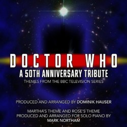 Doctor Who: A 50th Anniversary Tribute Soundtrack (Various Artists) - CD cover