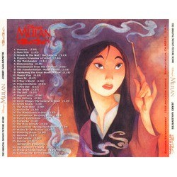Mulan Soundtrack (Jerry Goldsmith) - CD-Rückdeckel