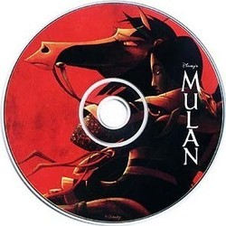 Mulan Soundtrack (Various Artists, Jerry Goldsmith) - CD cover