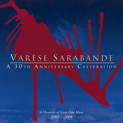 Varèse Sarabande - A 30th Anniversary Celebration Colonna sonora (Various Artists) - Copertina del CD