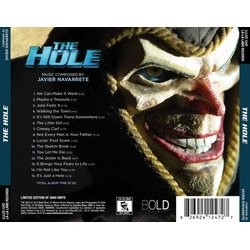 The Hole Soundtrack (Javier Navarrete) - CD Back cover