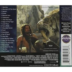 10,000 B.C. Soundtrack (Harald Kloser, Thomas Wander) - CD Trasero