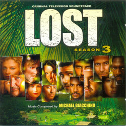 Lost: Season 3 Soundtrack (Michael Giacchino) - CD cover