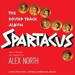 Spartacus Soundtrack (Alex North) - CD cover