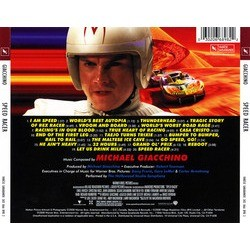 Speed Racer Soundtrack (Michael Giacchino) - CD Trasero