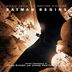 Batman Begins 聲帶 (James Newton Howard, Hans Zimmer) - CD封面