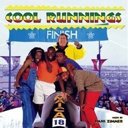 Cool Runnings Soundtrack (Hans Zimmer) - CD cover