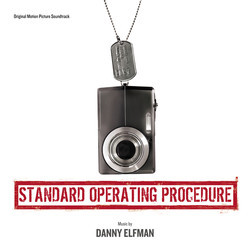 Standard Operating Procedure Soundtrack (Danny Elfman) - CD cover