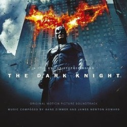The Dark Knight Soundtrack  (James Newton Howard, Hans Zimmer) - CD cover