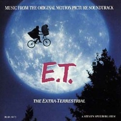 E.T. the Extra-Terrestrial Soundtrack (John Williams) - CD cover