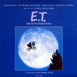 E.T. the Extra-Terrestrial Soundtrack (Michael Jackson, John Williams) - CD cover