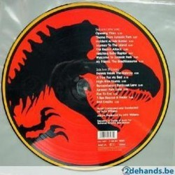 Jurassic Park Soundtrack (John Williams) - CD Achterzijde