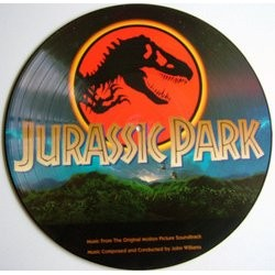 Jurassic Park Soundtrack (John Williams) - CD cover