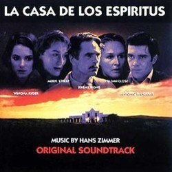 La Casa de los Espiritus Soundtrack  (Hans Zimmer) - CD cover