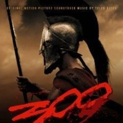 300 Soundtrack (Tyler Bates) - CD-Cover