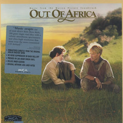Out of Africa Soundtrack (John Barry) - Carátula