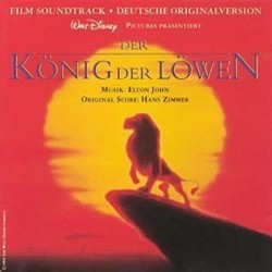 Der K�nig der L�wen Soundtrack  (Various Artists, Hans Zimmer) - CD cover