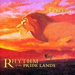 Rhythm of the Pride Lands Soundtrack (Various Artists, Lebo M.) - CD cover