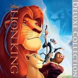 The Lion King Trilha sonora (Various Artists, Hans Zimmer) - capa de CD