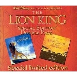 The Lion King Soundtrack  (Various Artists, Elton John, Lebo M, Hans Zimmer) - CD cover